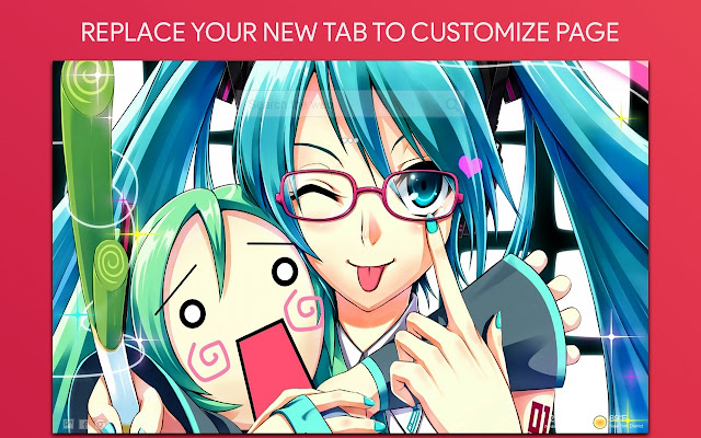 Hatsune Miku Vocaloid Wallpaper HD New Tab