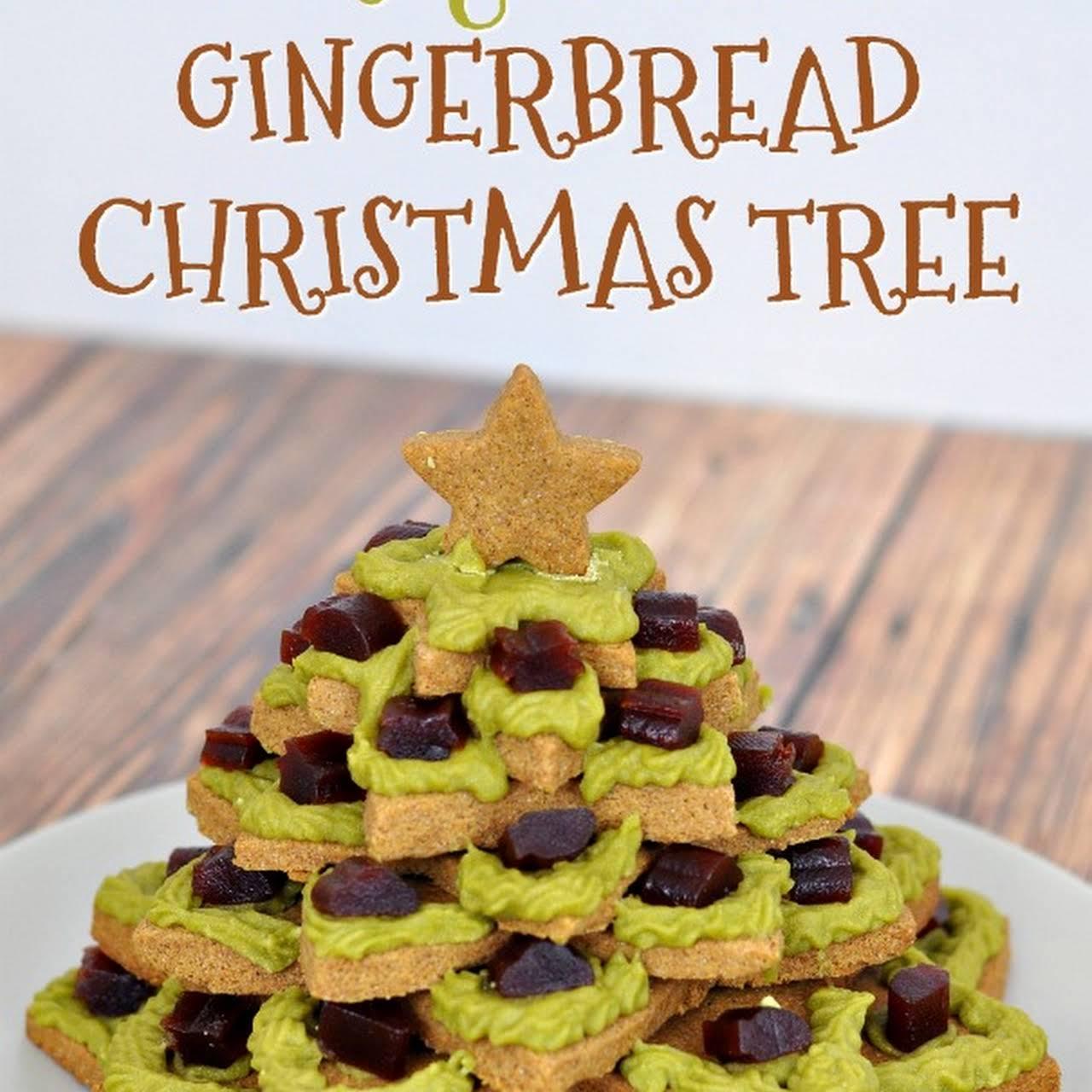 Gluten Free Gingerbread Christmas Tree