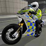 Police Motorbike Simulator 3D Icon