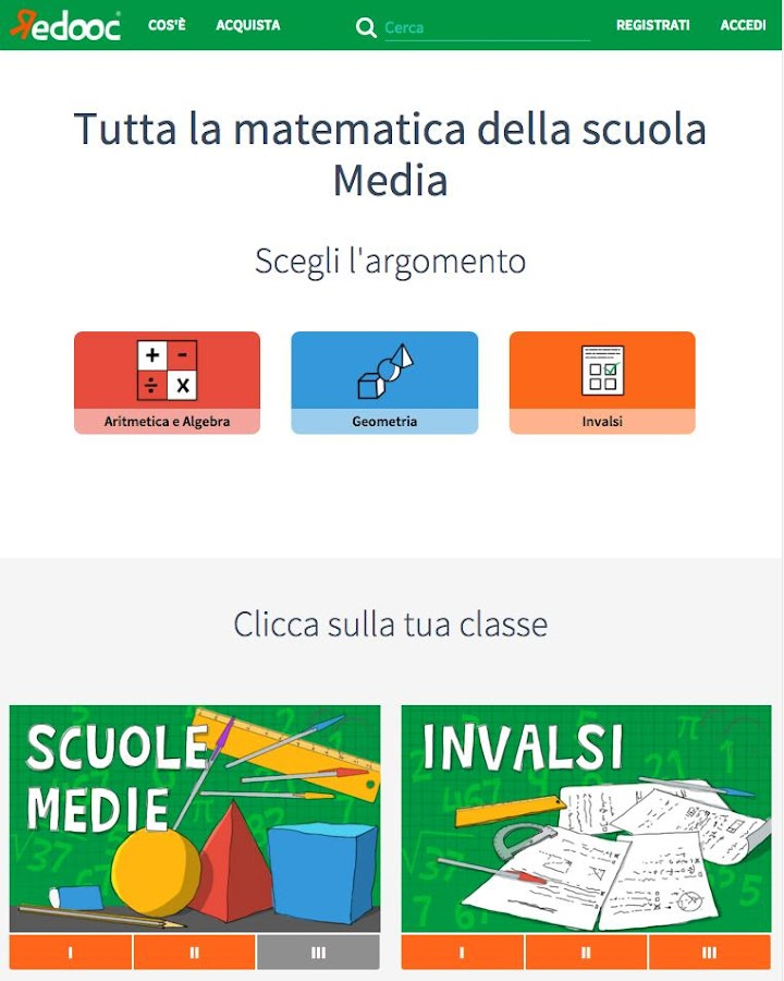 Matematica - Redooc- screenshot