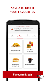 mymacca's Mobile Ordering- screenshot thumbnail