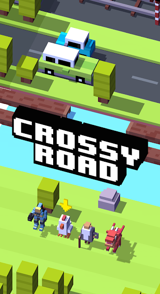 Crossy Road v2.4.0 (Unlocked/Coins/Ads-Free)