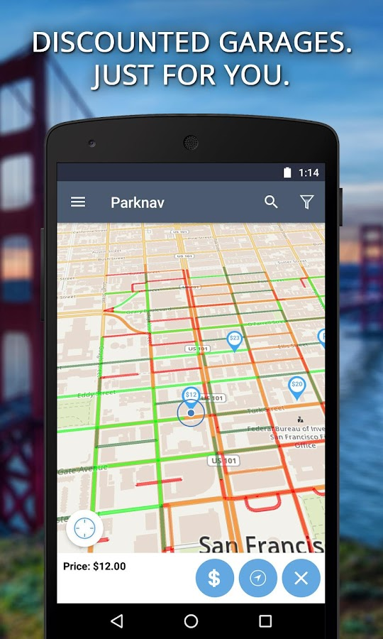 Parknav - Smart Street Parking- screenshot