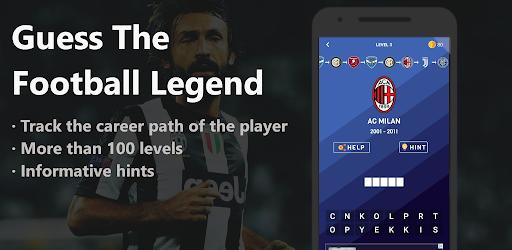 Guess The Football Legend - Football Quiz 2020 screenshot 1