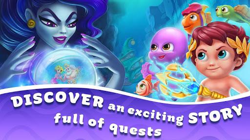 Seascapes : Trito's Match 3 Adventure 2.6 screenshots 10