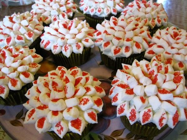 Chrysanthemum Cupcakes Recipe