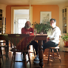 Photo: title: Lucky & Toby Hollander, Portland, Maine date: 2010 relationship: family, parents years known: 35-40