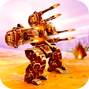 Game Robots War Fighting 2 - futuristic battle machines apk for kindle fire