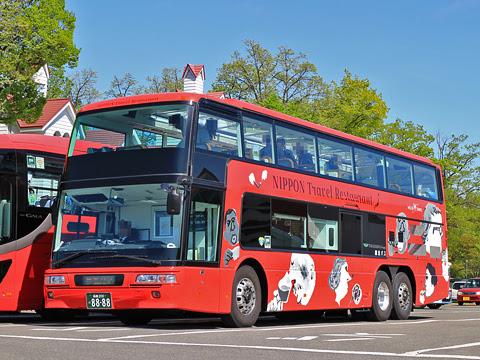 WILLER(網走バス)「レストランバス」1号車 8888