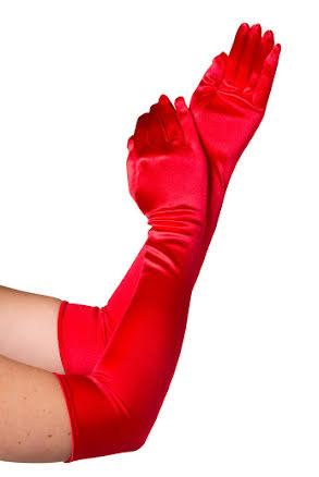 Handskar, röda