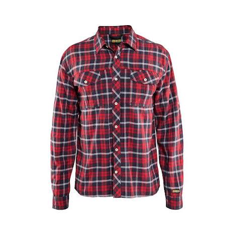 Skjorta Blåkläder Röd/Blå