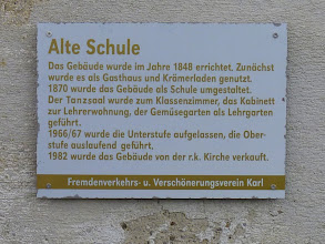 """Photo: Einiges zur Geschichte der """"Alten Schule"""" (1870-1969)"""