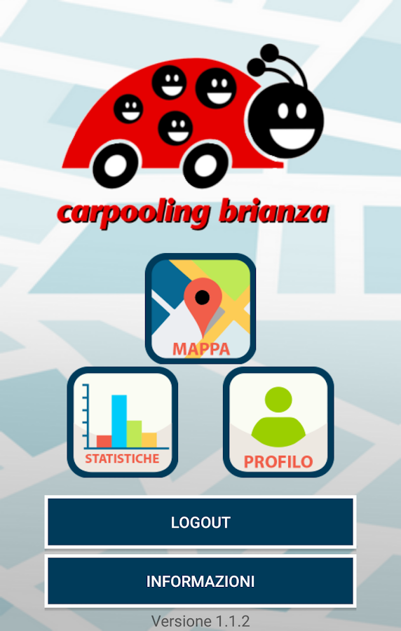 Carpooling Brianza- screenshot