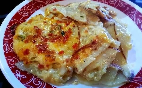 ~ Cassies Tantalizing Scalloped Potatoes ~