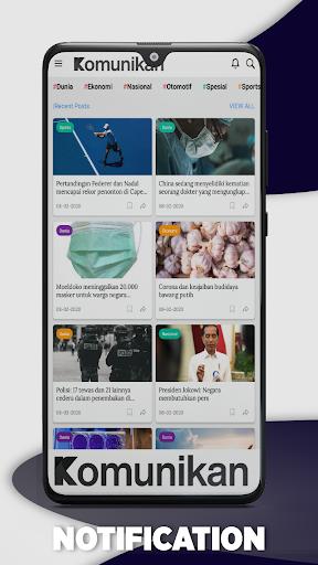 Komunikan Berita Terbaru, Terpercaya dan Tepat screenshot 4