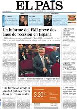 Photo: Un informe del FMI prevé dos años de recesión en España. Es el titular principal en nuestra portada del 20 de enero http://www.elpais.com/static/misc/portada20120120.pdf