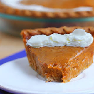 Healthy Sweet Potato Pie.