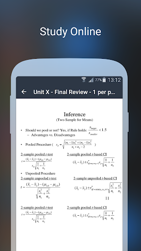 Spitball Study App screenshot