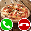 fake call pizza icon