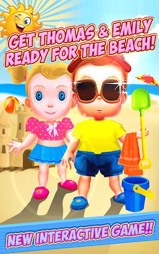 子供たちはビーチの準備をしなさい