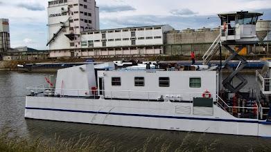 Photo: Unser Schiff , man kann sehen , das der Antribsteil von dem Schiff getrennt wurde , dadurch wenig Geräusche und kein Vibrationen