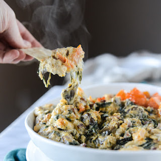 Roasted Butternut Squash Spinach Dip