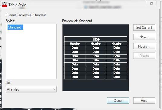 Cách tạo bảng biểu trong phần mềm autocad chi tiết nhất