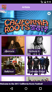 California Roots Festival- screenshot thumbnail
