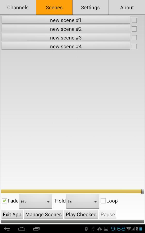 OSRAM DMX Wi-Fi Controller- screenshot