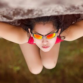 sunglasses by Mas Irvan - People Portraits of Women