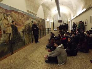 Photo: Gli alunni ascoltano la lezione del Prof. Marangio
