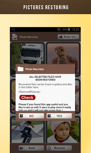 Deleted Photo Recovery 1.0.5 screenshots 4