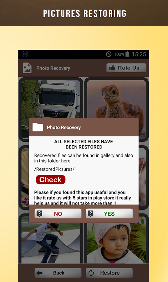 Deleted photo recovery android apps on google play deleted photo recovery screenshot asfbconference2016 Images