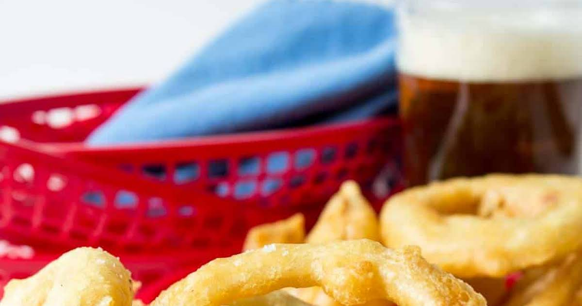 10 Best Onion Rings without Bread Crumbs Recipes