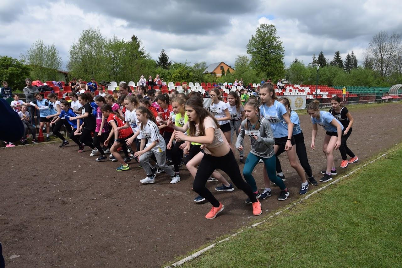 Powiatowe drużynowe biegi przełajowe