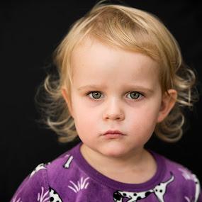 Julienne by Mats Andersson - Babies & Children Child Portraits ( child portrait, green eyes, portrait, eyes, grandchild )