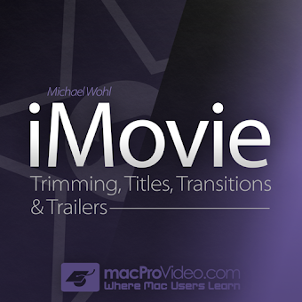Editing Course For iMovie