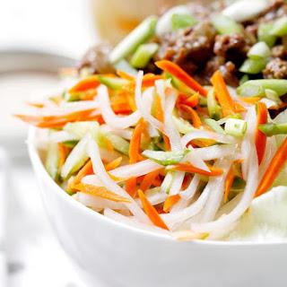 Vietnamese Pickled Vegetables.