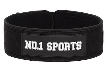 No.1 Sports Wod Belt Black - Large