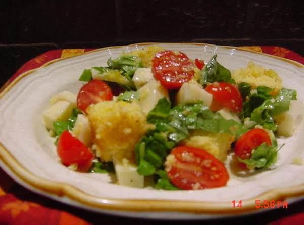 Cornbread Panzanella Salad Recipe
