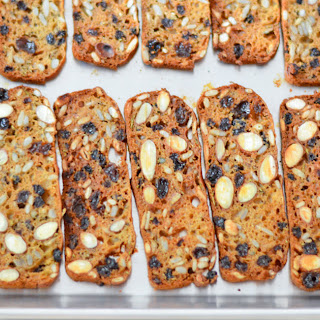 Raisin & Rosemary Crackers.