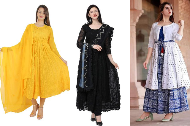 Anarkali Suit - Indian Wear Wardrobe  essential