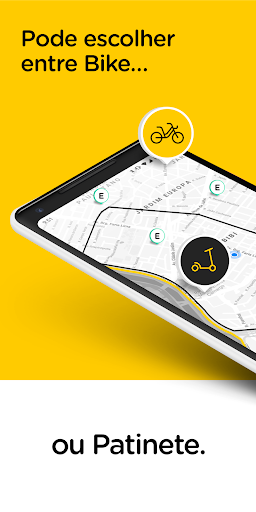 Yellow - Scooter and Bike sharing Apk apps 2