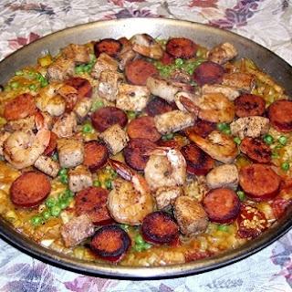 Spanish Mixed Paella Valenciana
