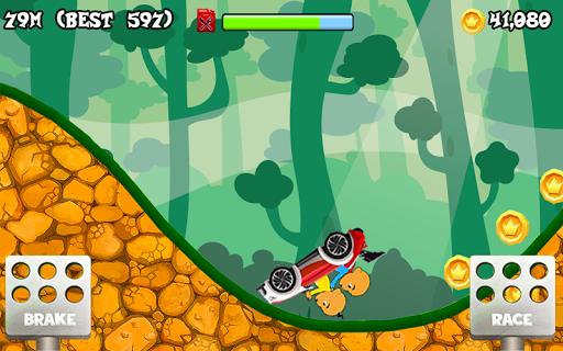 Upin Hill Race Games 1.0 screenshots 3