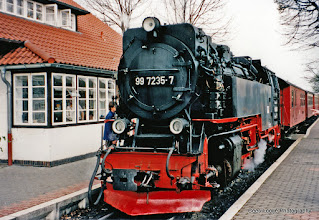 Photo: Wernigerode. Station HSB (Harzquerbahn).