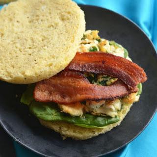 Low Carb Breakfast Sandwich {Paleo, GF}.