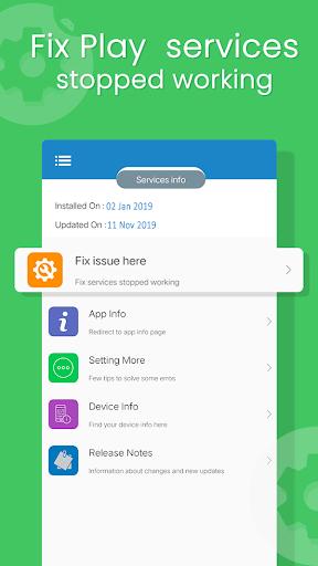 Update Play Services screenshot 1