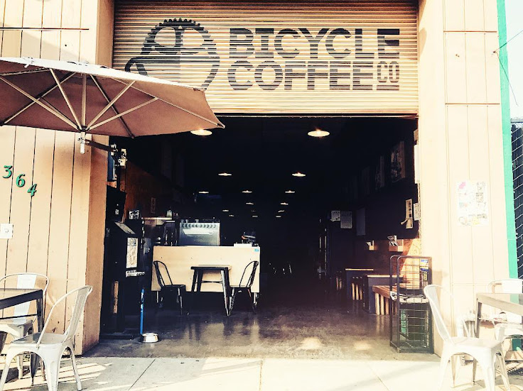 Street view of Bicycle Coffee