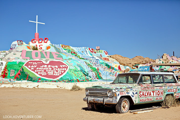 Salvation Mountain (15 Popular San Diego Day Trips).